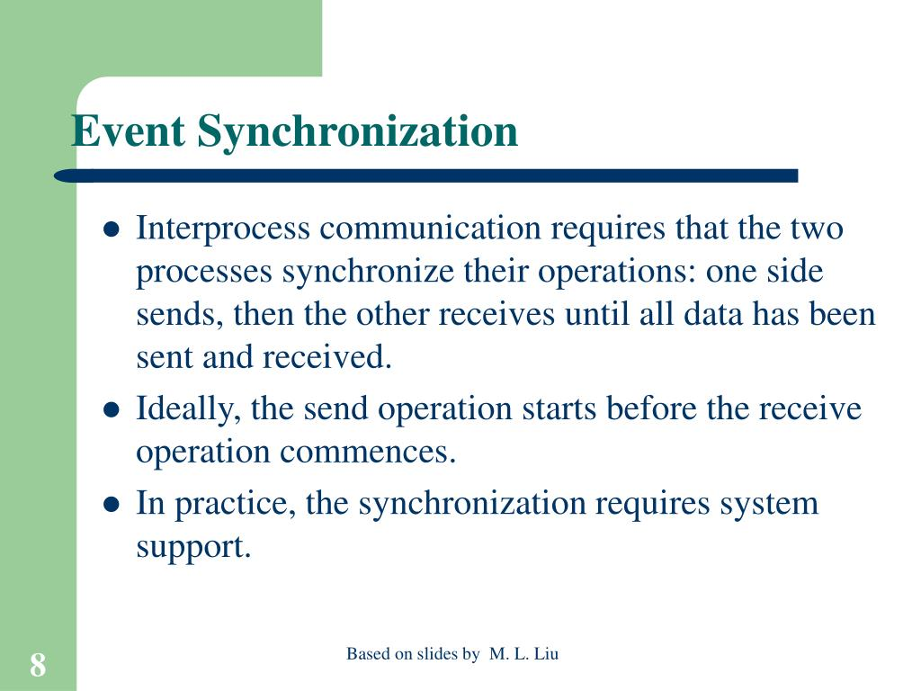 Event Synchronization