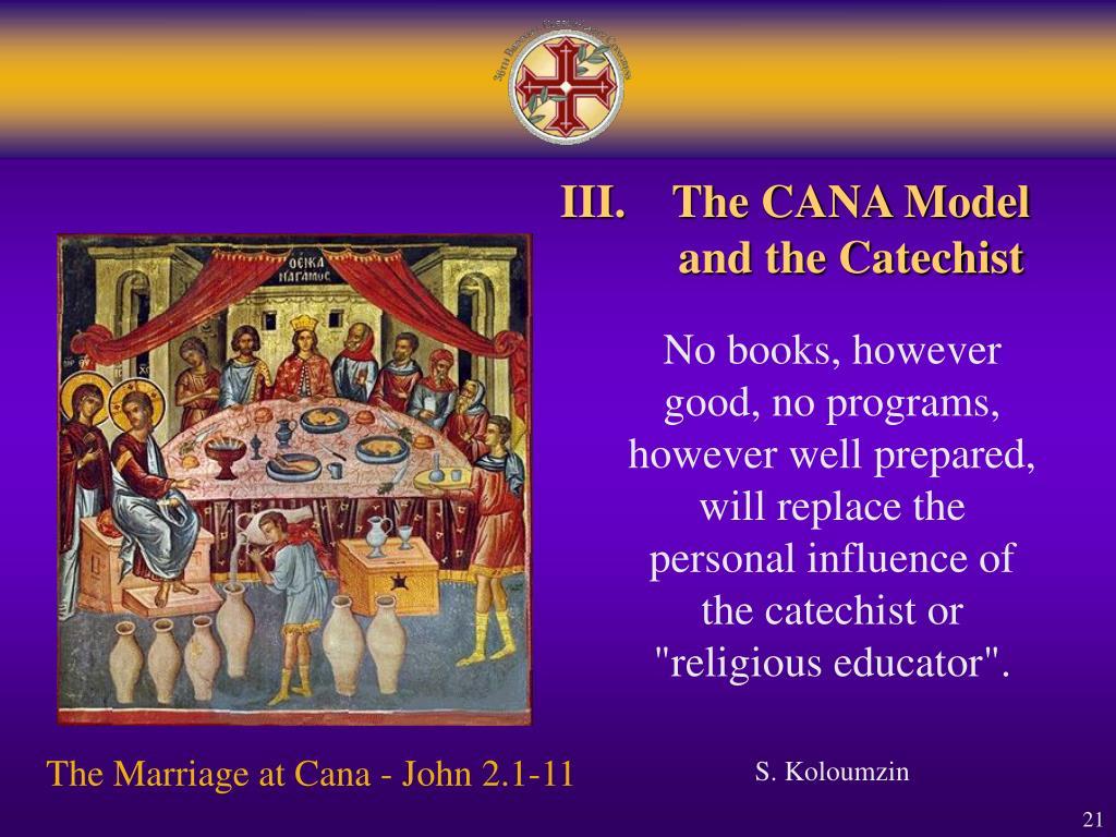 III.The CANA Model