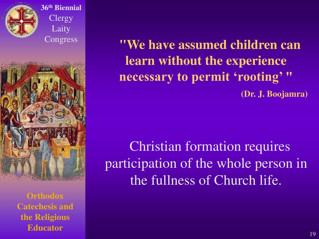"""""""We have assumed children can learn without the experience necessary to permit 'rooting' """""""