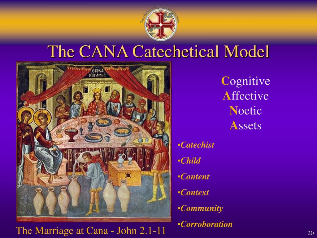 The CANA Catechetical Model