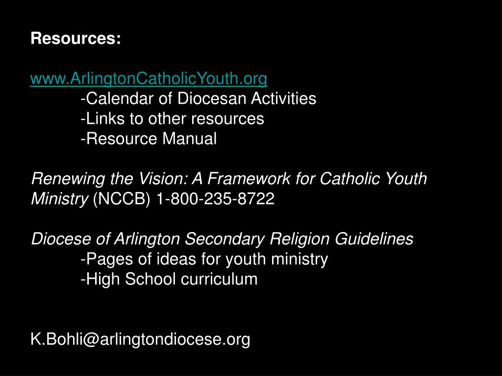 Resources: