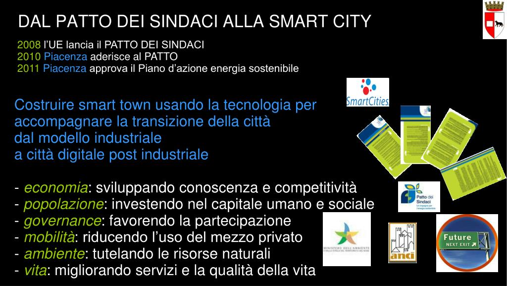 DAL PATTO DEI SINDACI ALLA SMART CITY