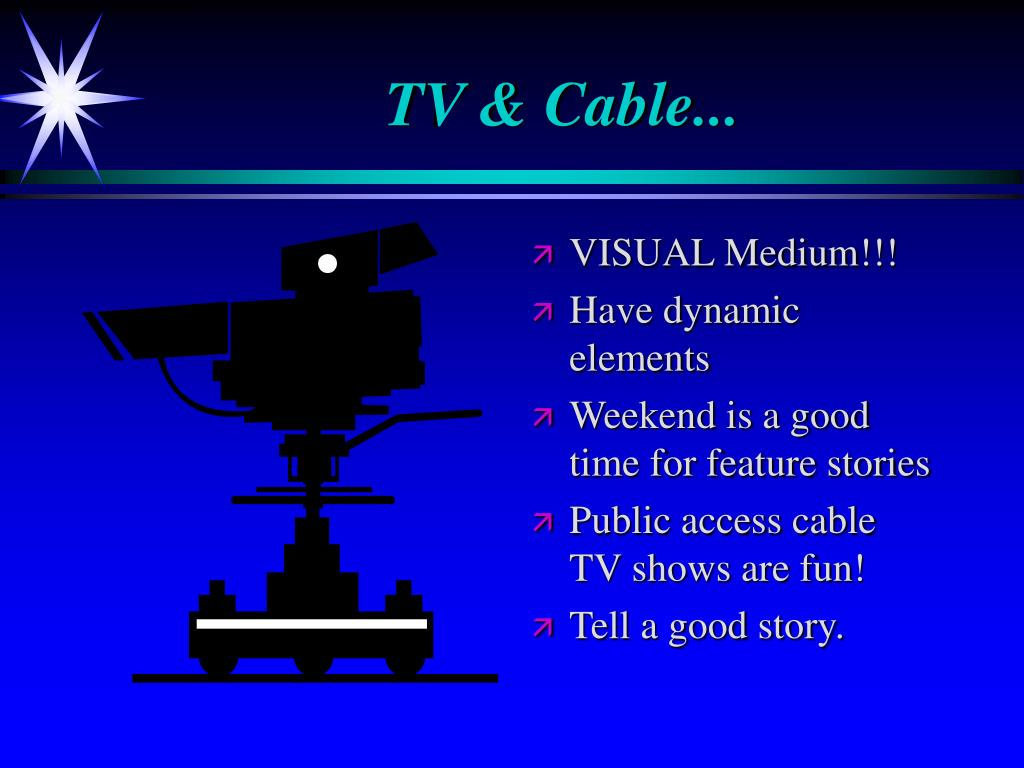 TV & Cable...