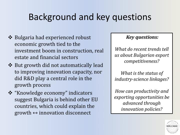 Background and key questions l.jpg