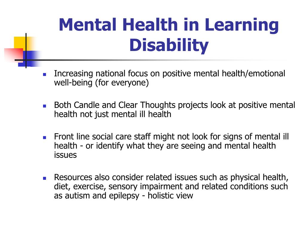 Mental Health in Learning Disability