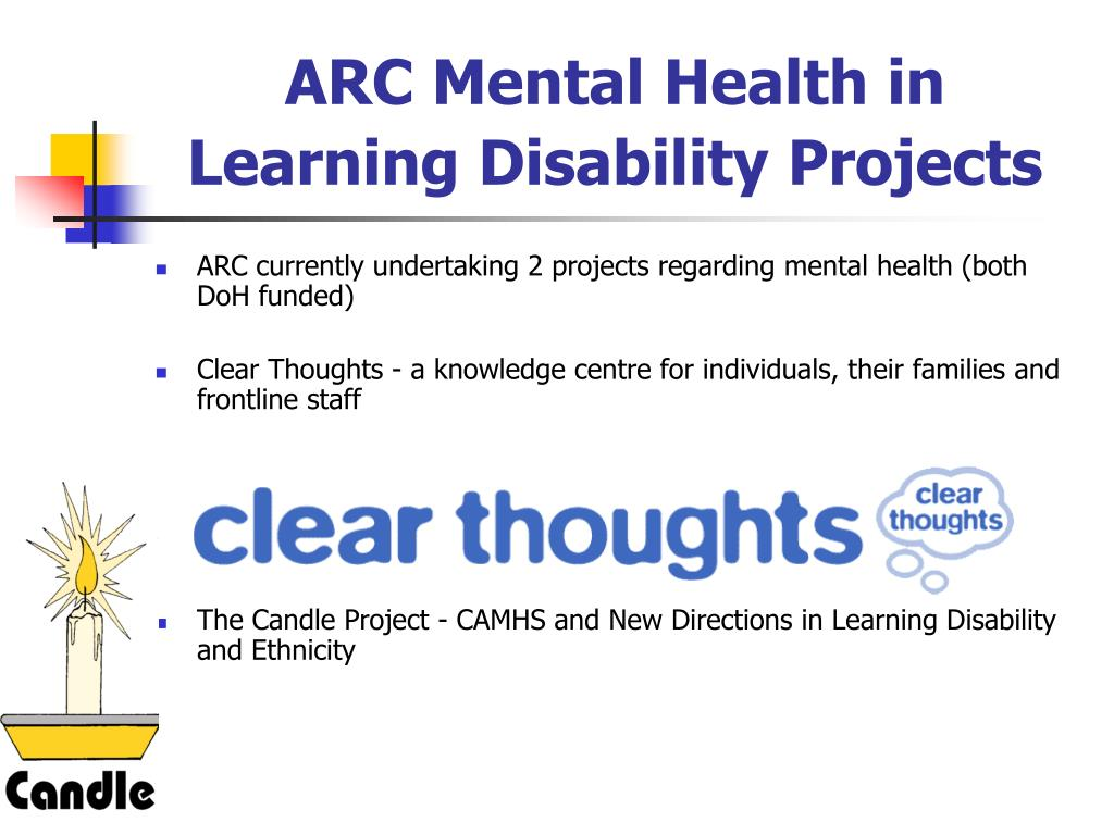 ARC Mental Health in Learning Disability Projects