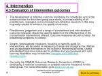 4 intervention 4 3 evaluation of intervention outcomes