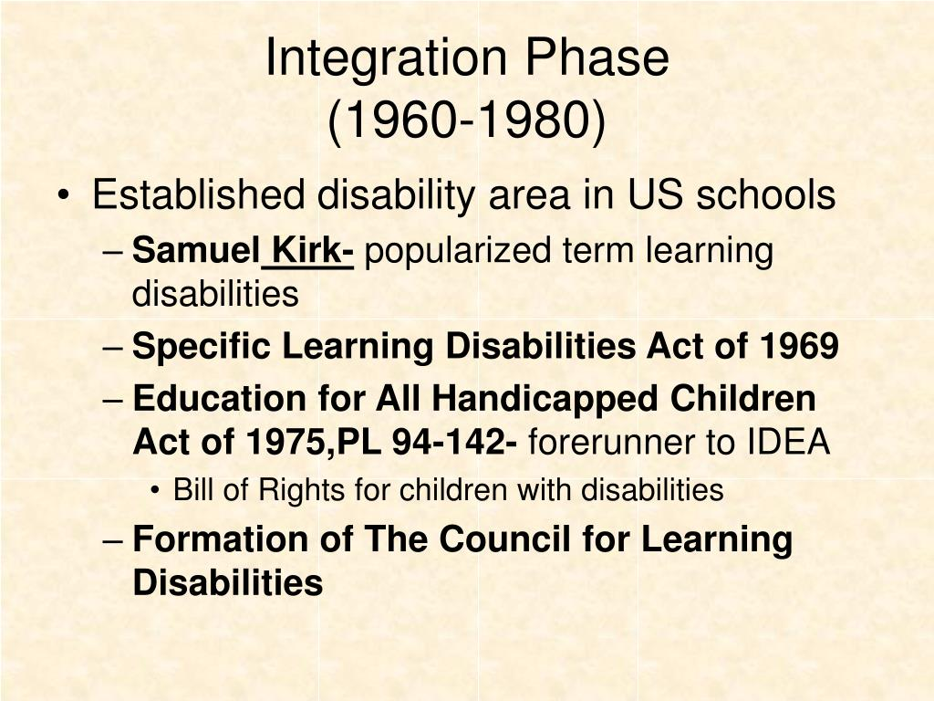 Integration Phase
