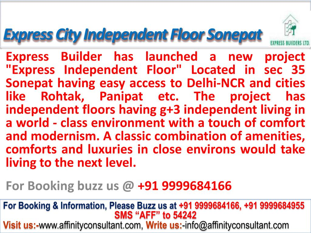 Express City Independent Floor