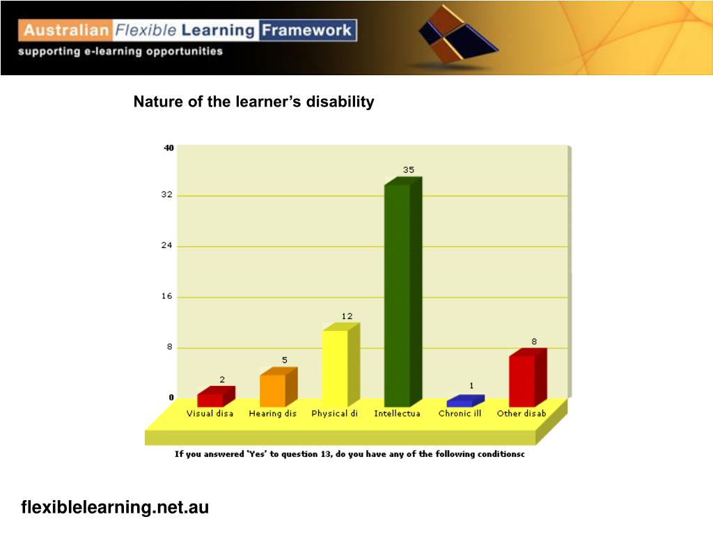 Nature of the learner's disability