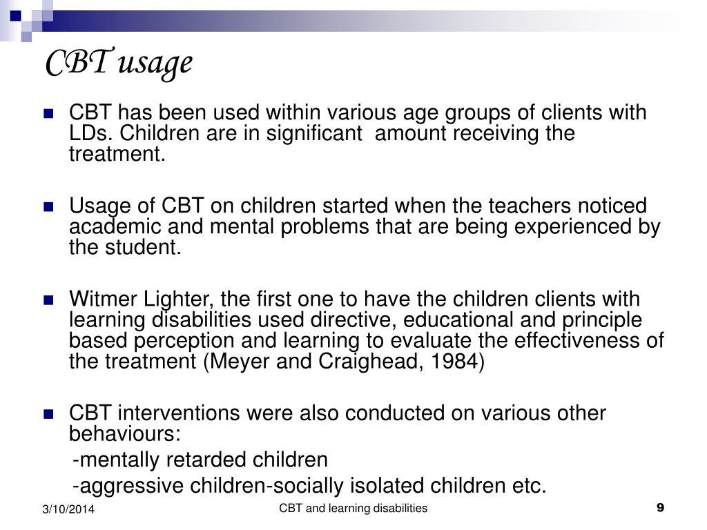CBT usage