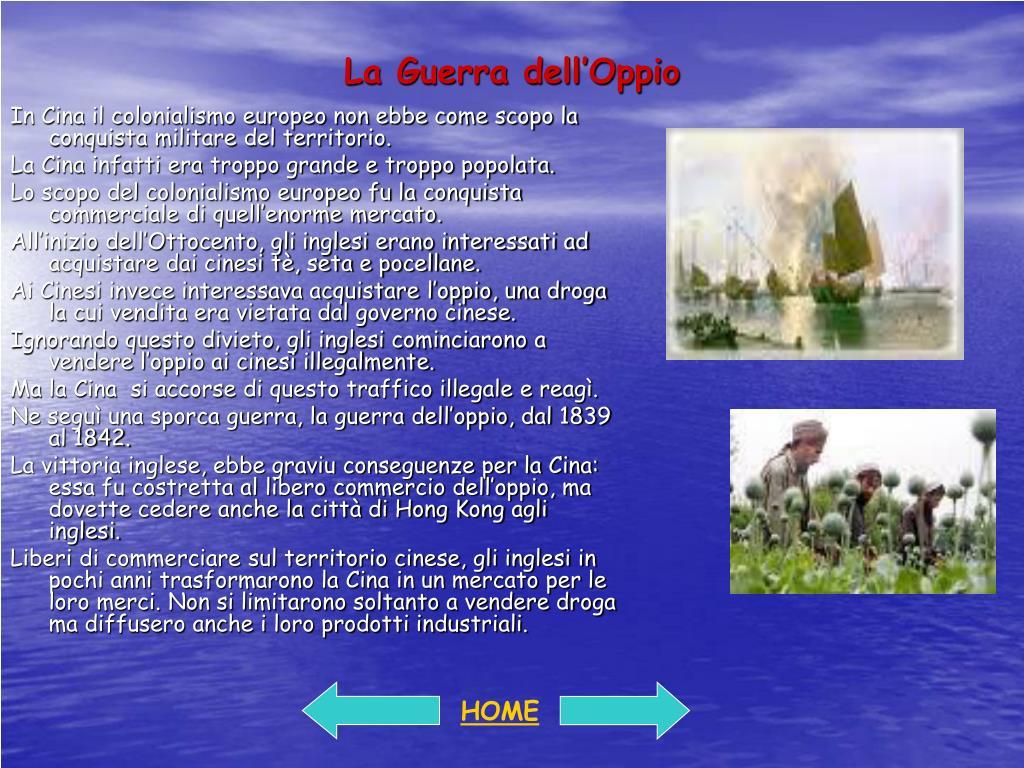 La Guerra dell'Oppio