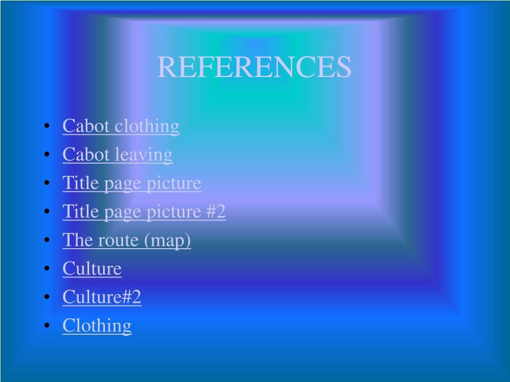 Cabot clothing