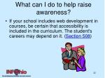 what can i do to help raise awareness