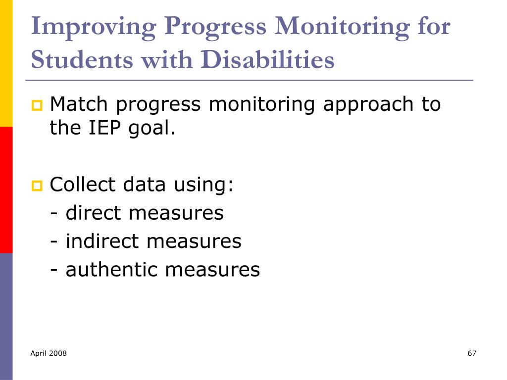 Improving Progress Monitoring for Students with Disabilities