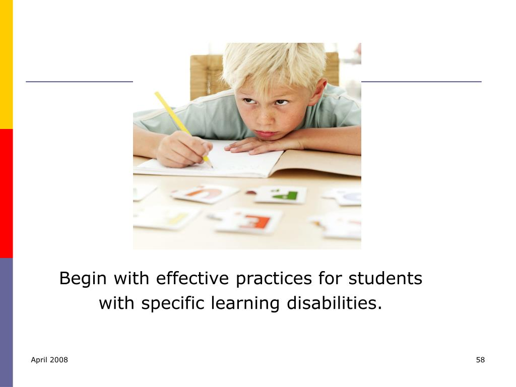 Begin with effective practices for students