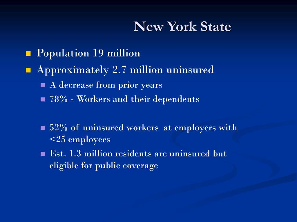 Population 19 million