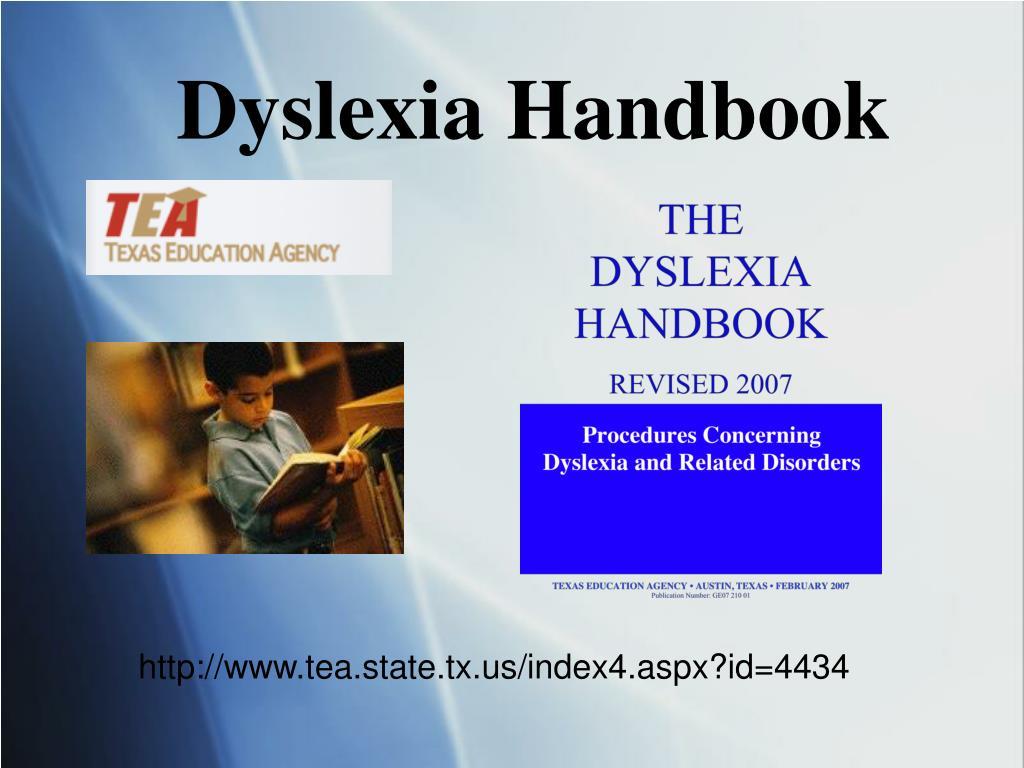 Dyslexia Handbook