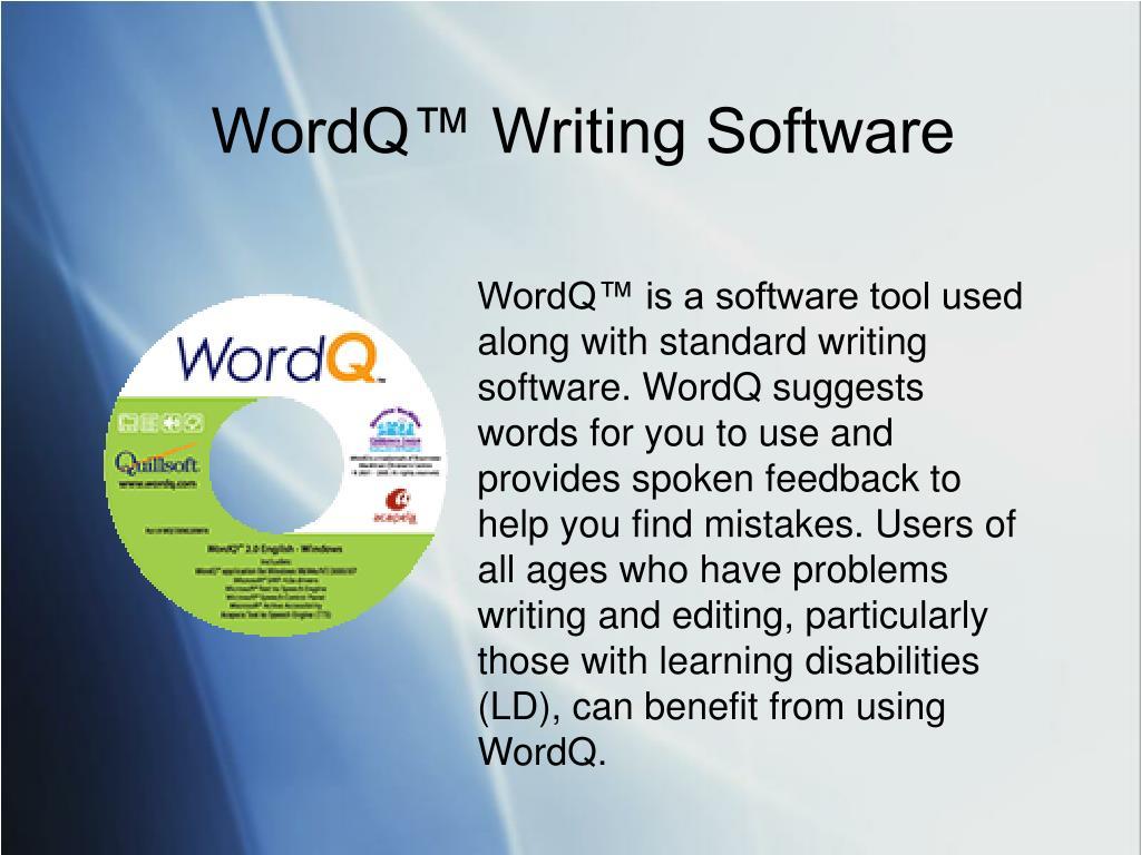 WordQ™ Writing Software