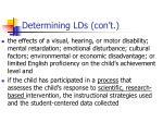 determining lds con t17
