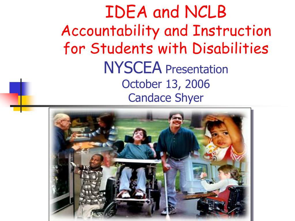 IDEA and NCLB