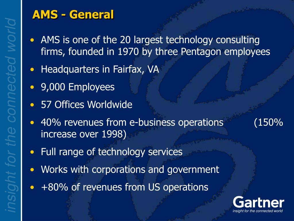 AMS - General