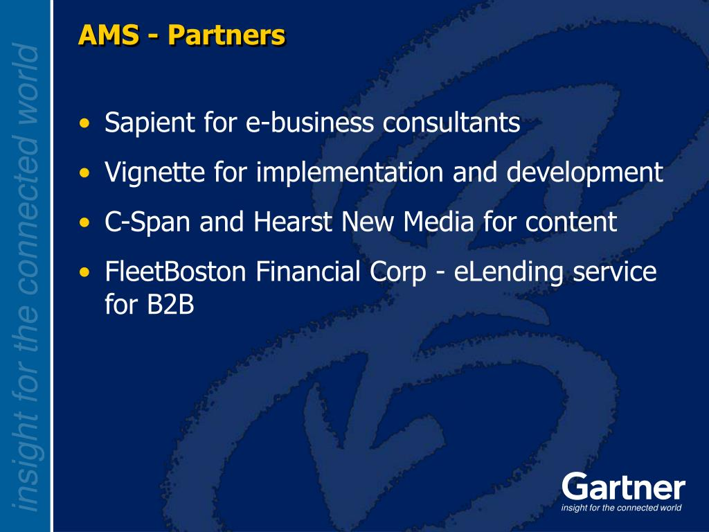 AMS - Partners
