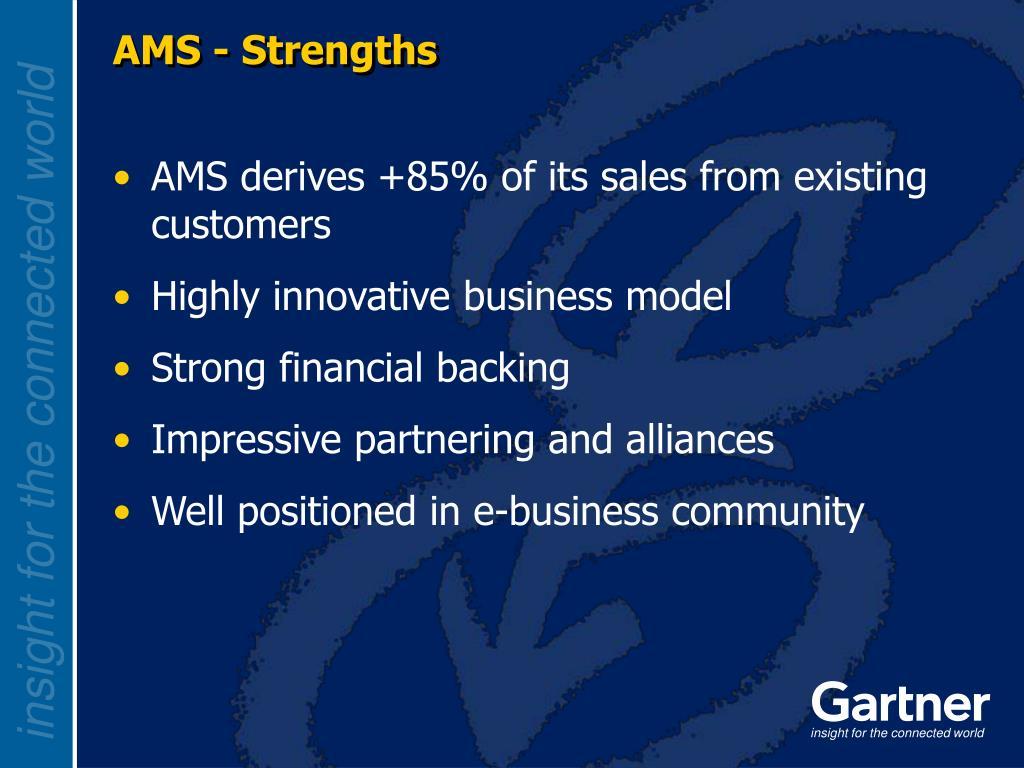 AMS - Strengths