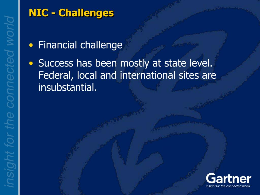 NIC - Challenges