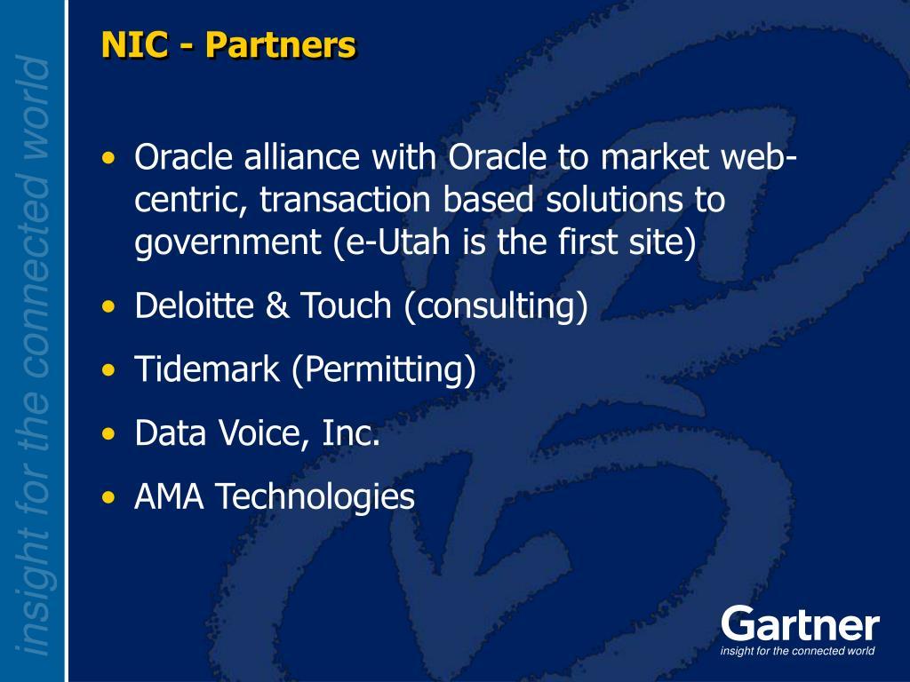 NIC - Partners