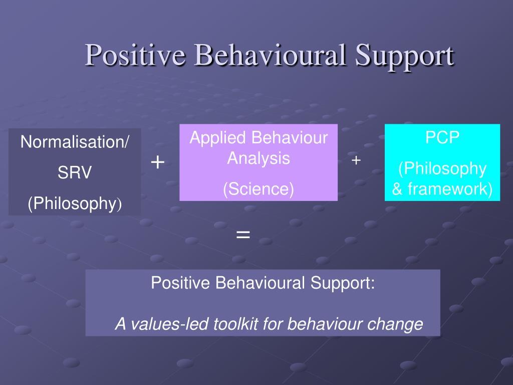Positive Behavioural Support