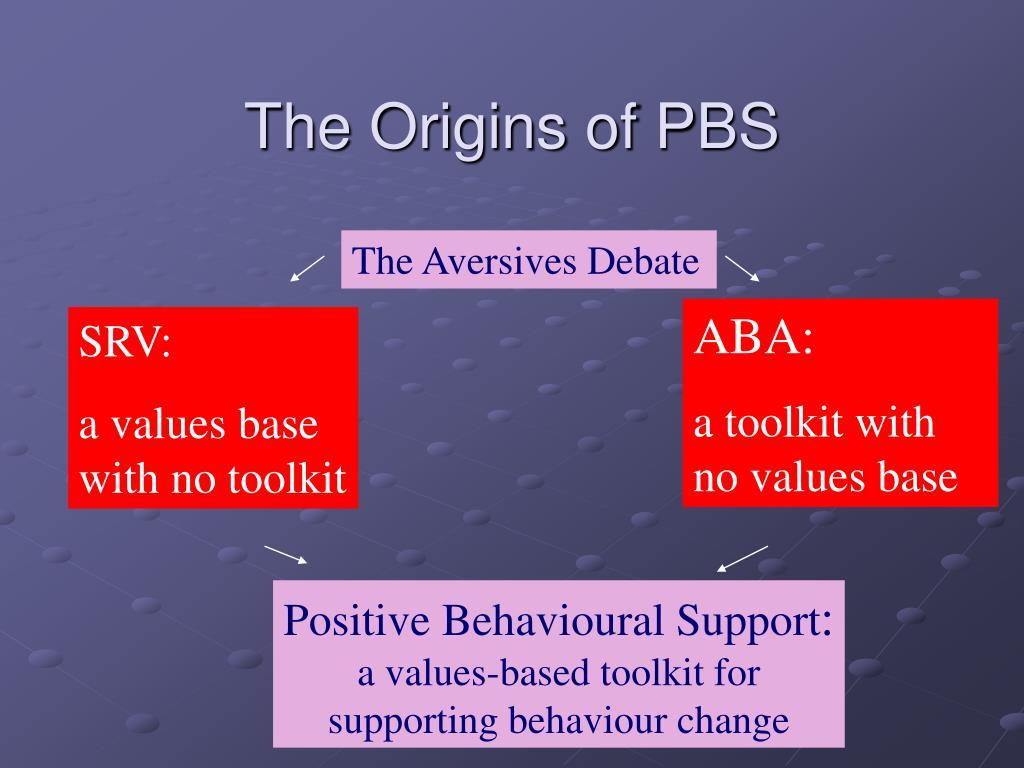 The Origins of PBS