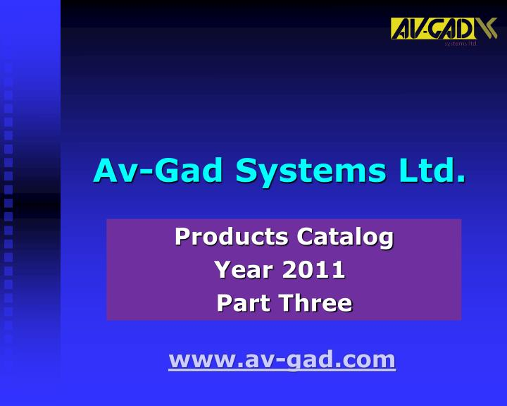 Av gad systems ltd