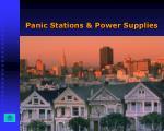 panic stations power supplies