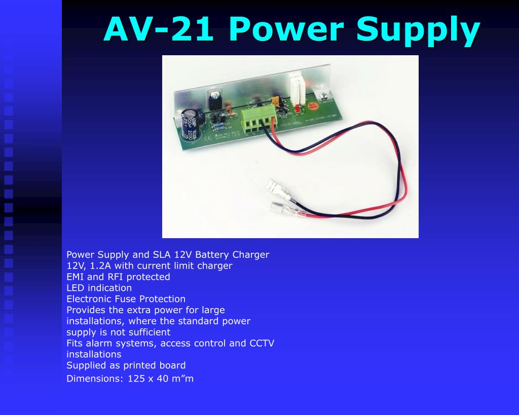AV-21 Power Supply
