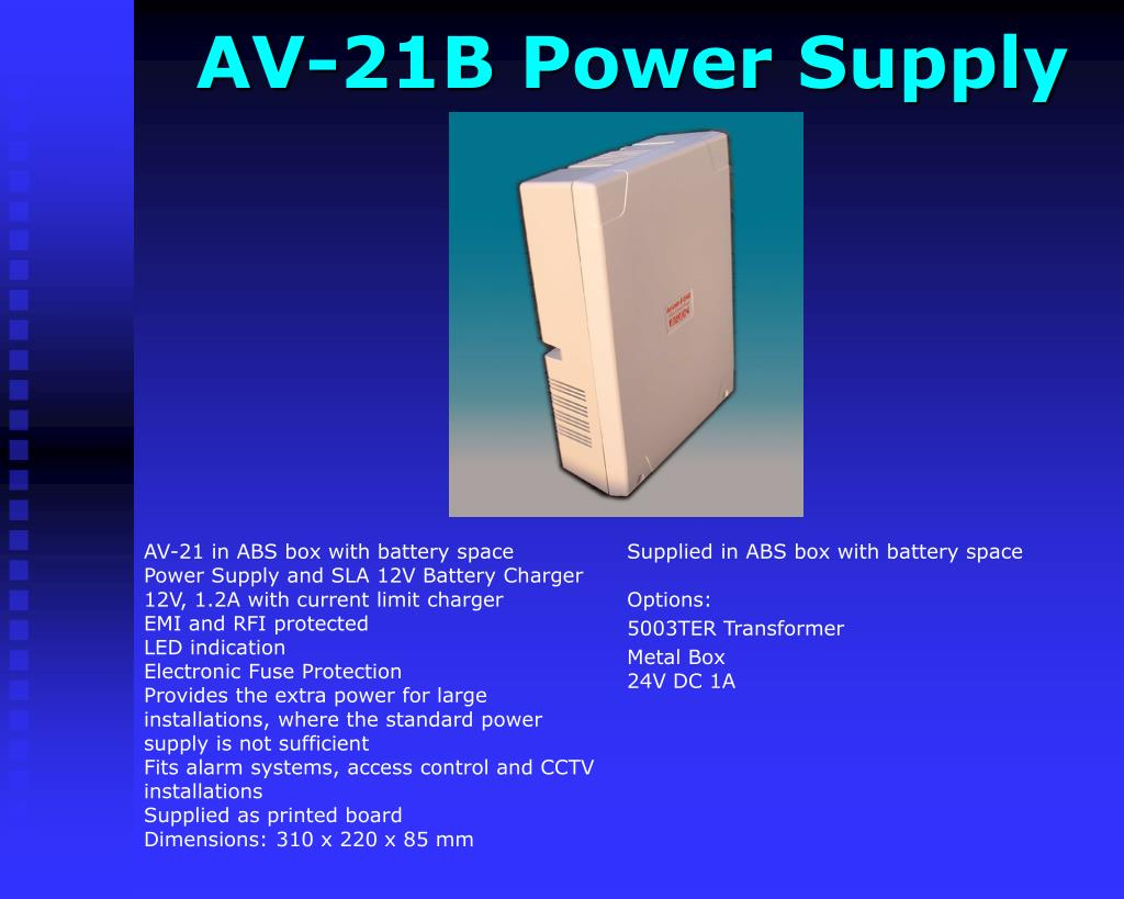 AV-21B Power Supply
