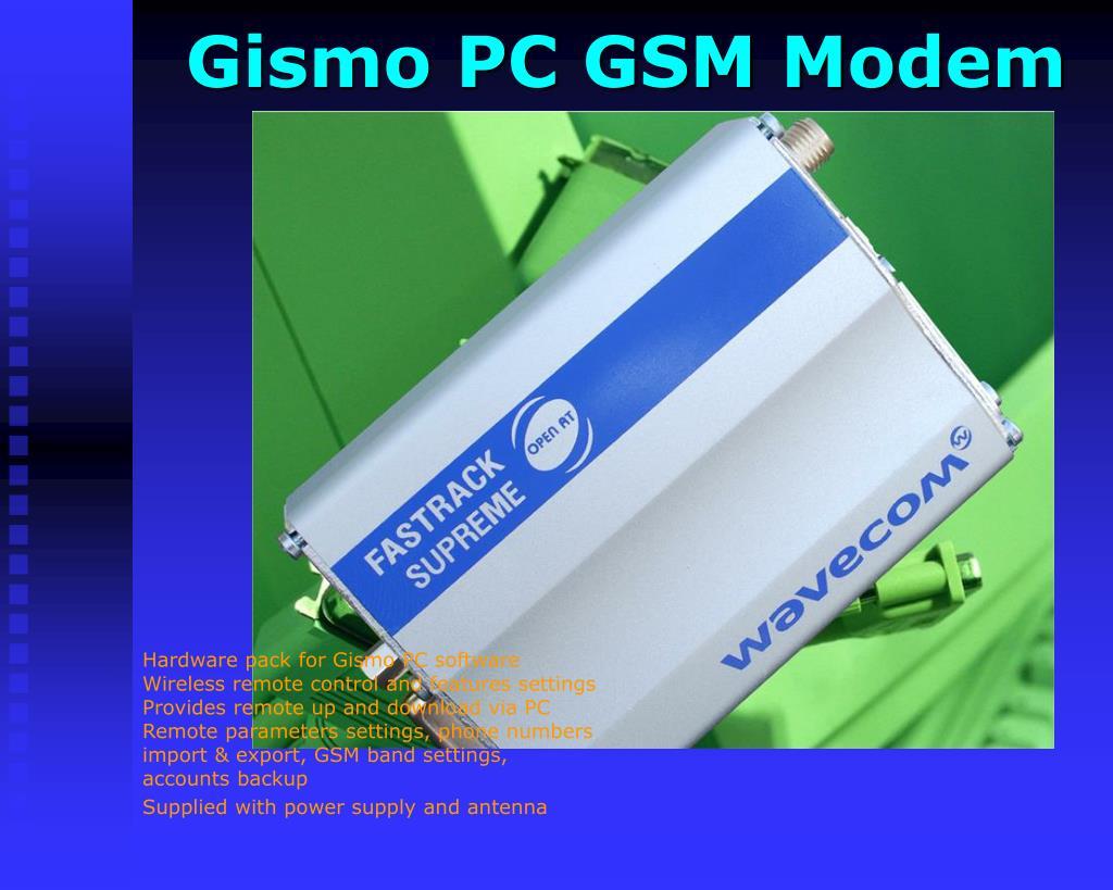 Gismo PC GSM Modem