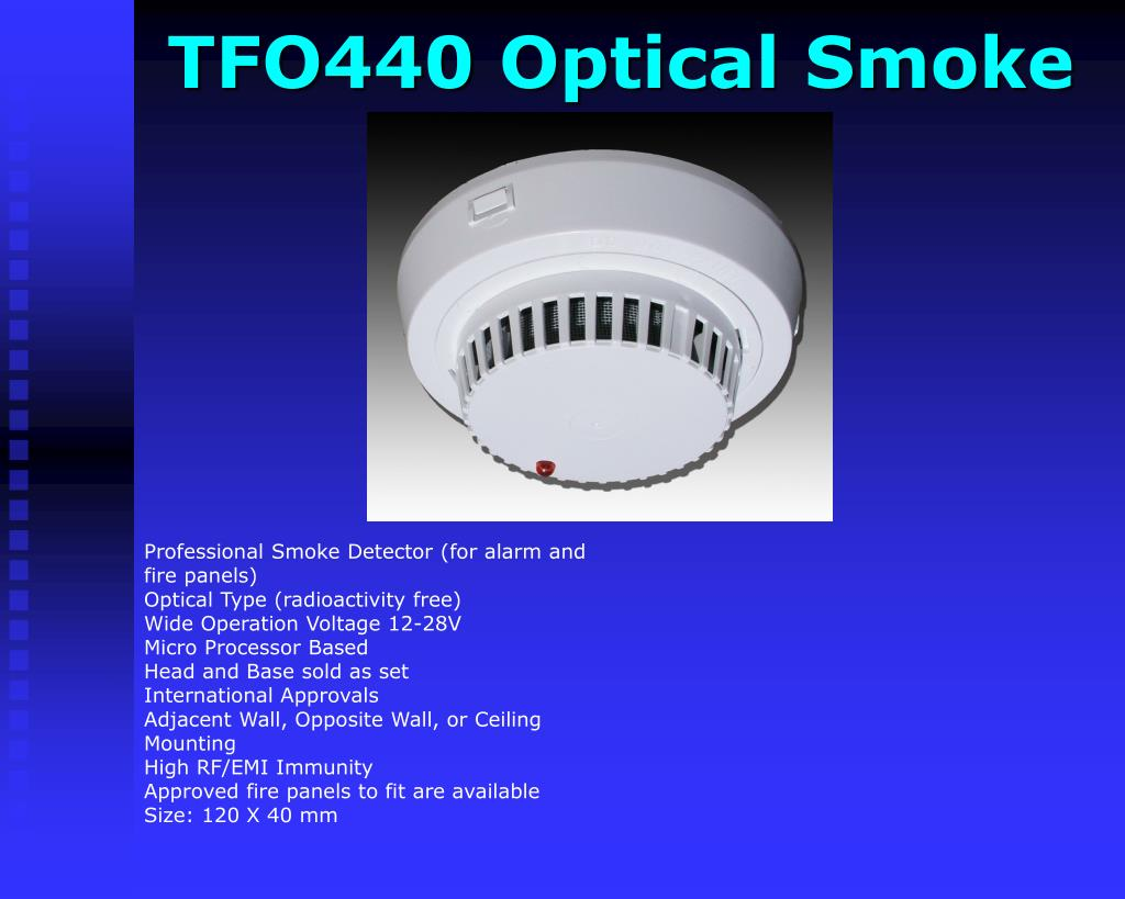 TFO440 Optical Smoke