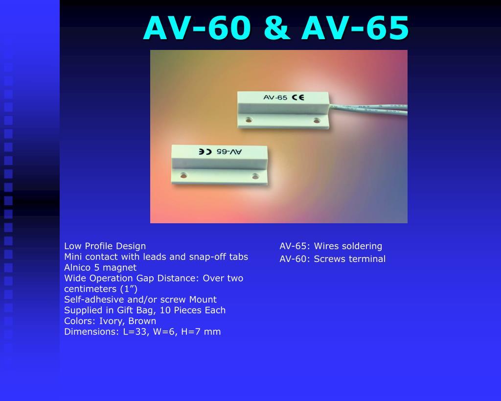 AV-60 & AV-65