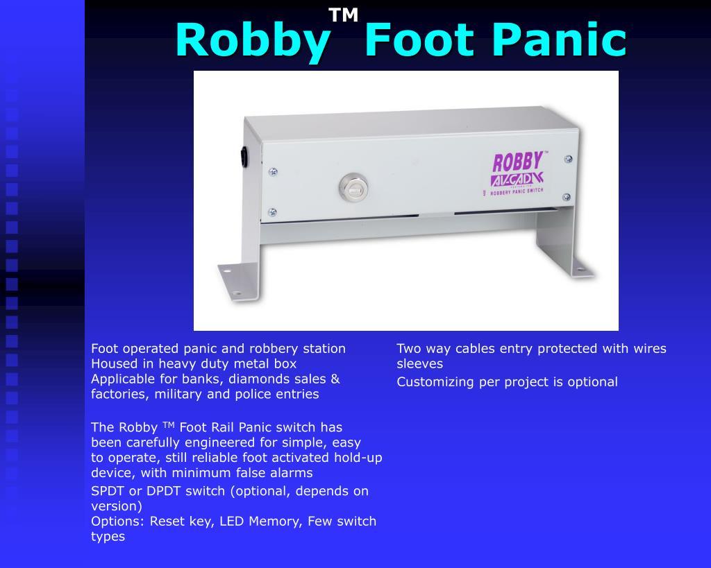 Robby  Foot Panic