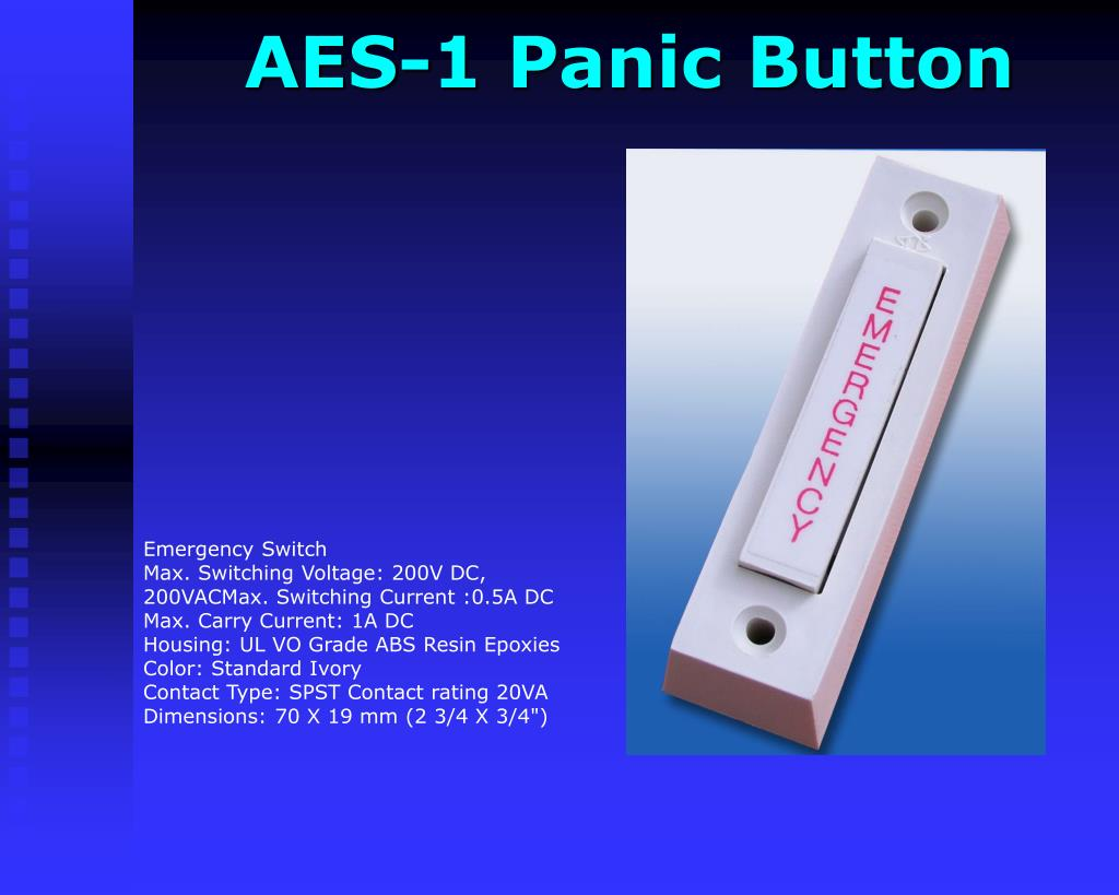AES-1 Panic Button