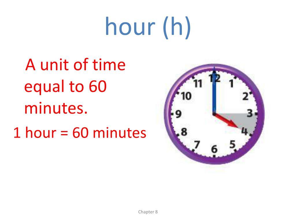 hour (h)