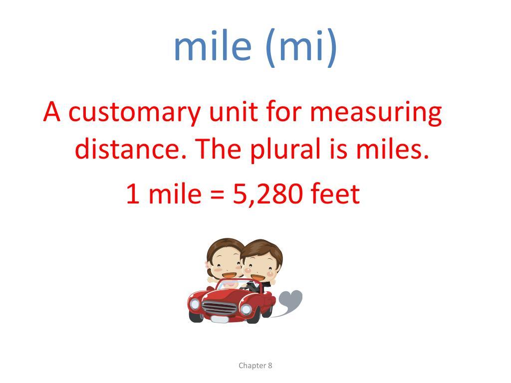 mile (mi)