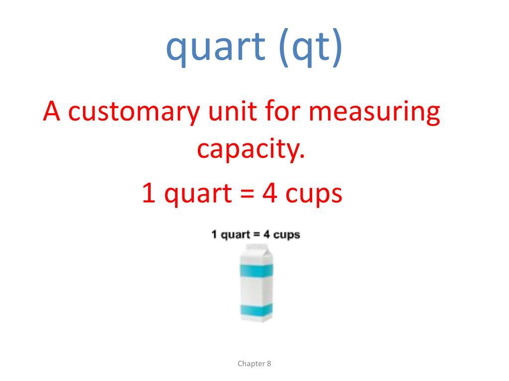 quart (qt)
