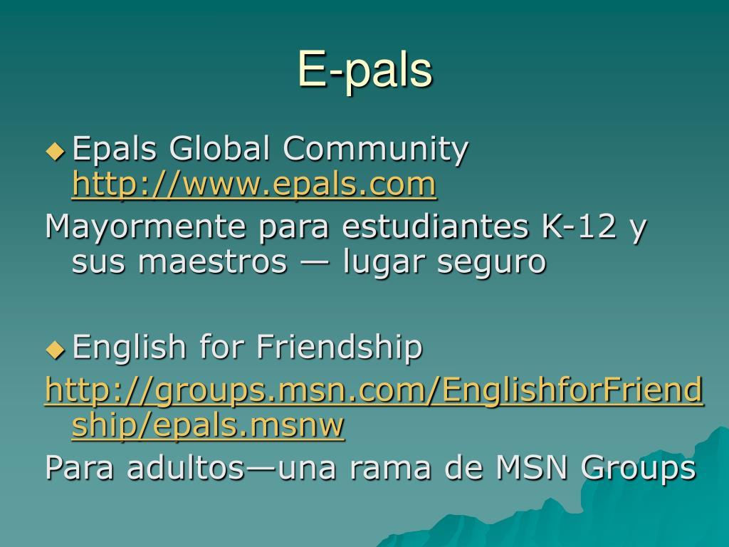 E-pals