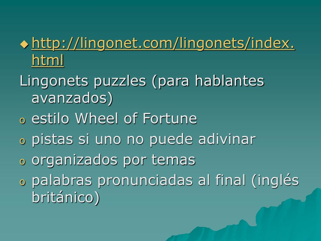 http://lingonet.com/lingonets/index.html