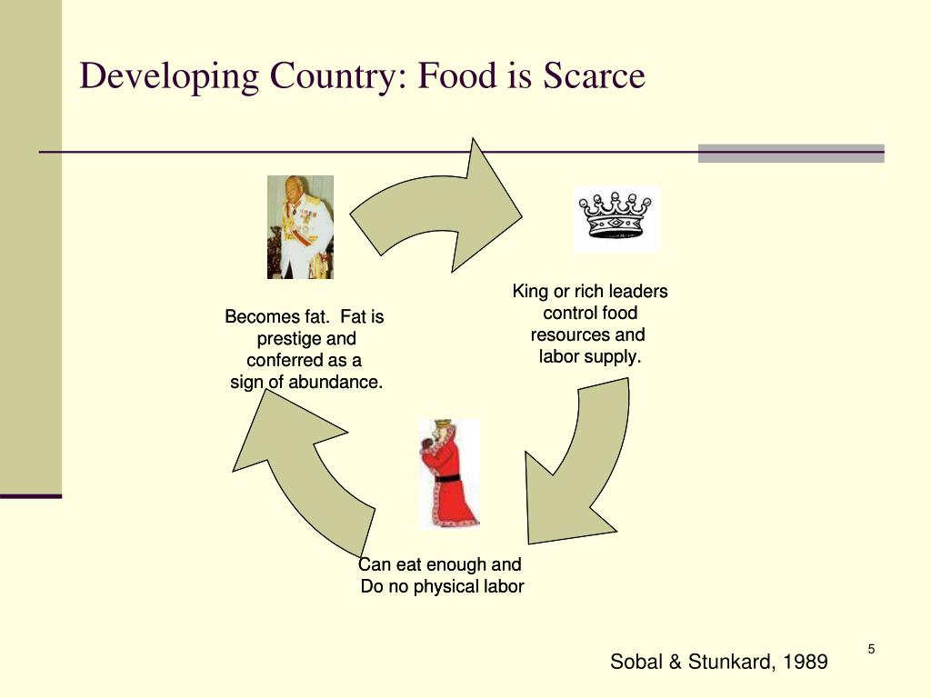 Developing Country: Food is Scarce