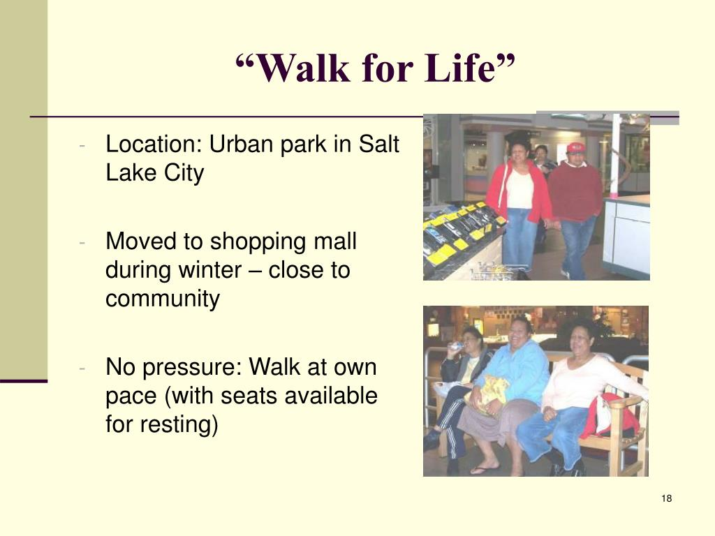 """""""Walk for Life"""""""