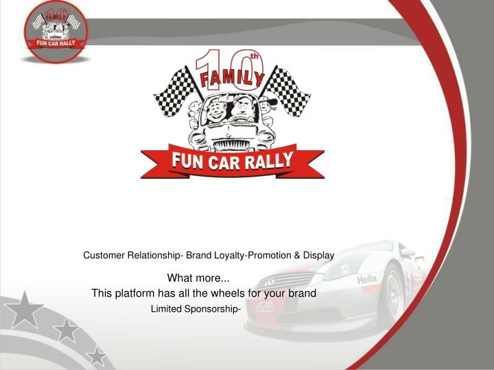 Customer Relationship- Brand Loyalty-Promotion & Display