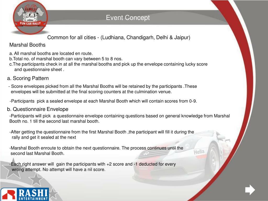 Event Concept